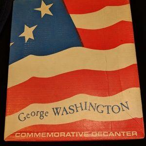 Awesome Vintage George Washington Decanter New